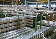 stainless steel welded tubes for several applications warehouse marcegaglia